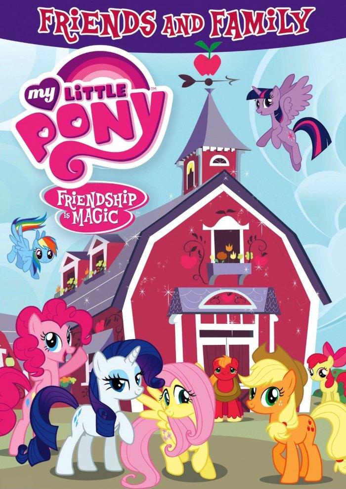 Мультсеріал My Little Pony: Дружба - це диво 2010 дивитися ...